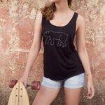 T-Shirt Eisbär woman
