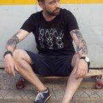 T-Shirt Hase man