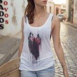 T-Shirt Herz Pink woman